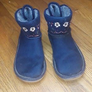 Carter's Blue Suede Boots